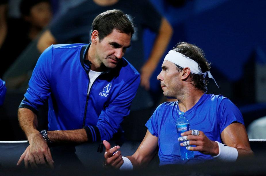 Rogeris Federeris ir Rafaelis Nadalis