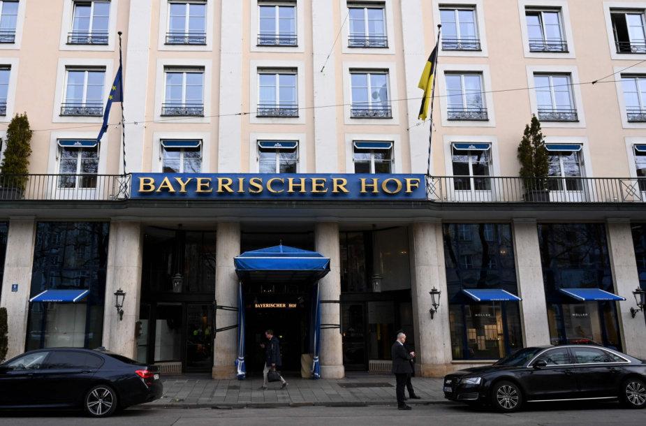 Šiame viešbutyje vyks 2020-ųjų Miuncheno saugumo konferencija