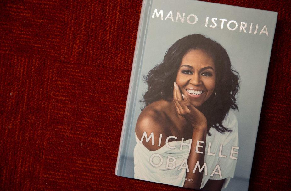 "Michelle Obama knyga ""Mano istorija"""