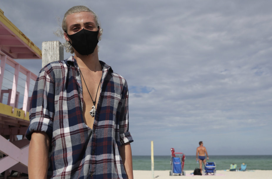 Vaizdas Floridos paplūdimyje.