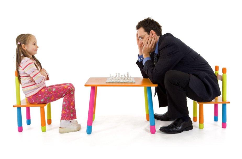 Dukra ir tėvas