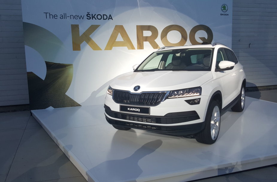 """Škoda Karoq"" pristatymas Stokholme"