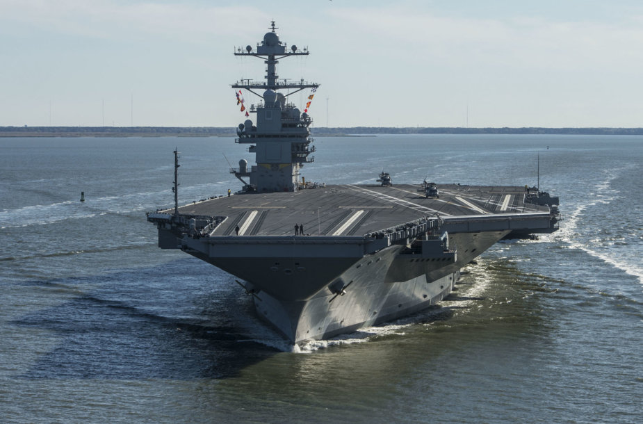 "Lėktuvnešis ""USS Gerald R. Ford"""