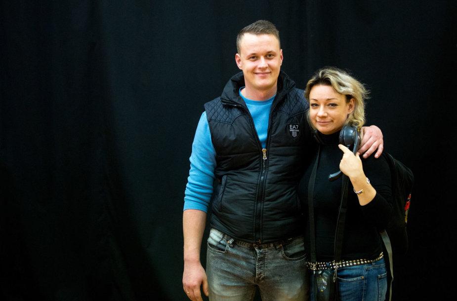 Marius Dauda ir Rūta Lukoševičiūtė