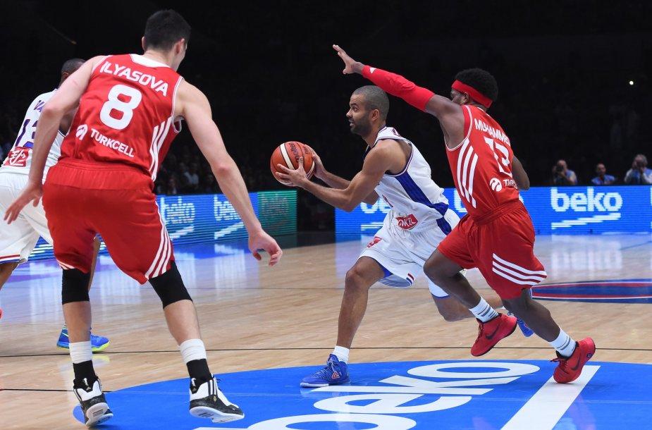 Europos krepšinio čempioanatas: Prancūzija - Turkija