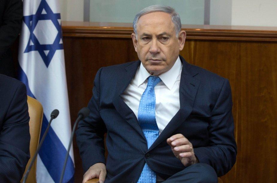 Benjaminas Netanyahu.