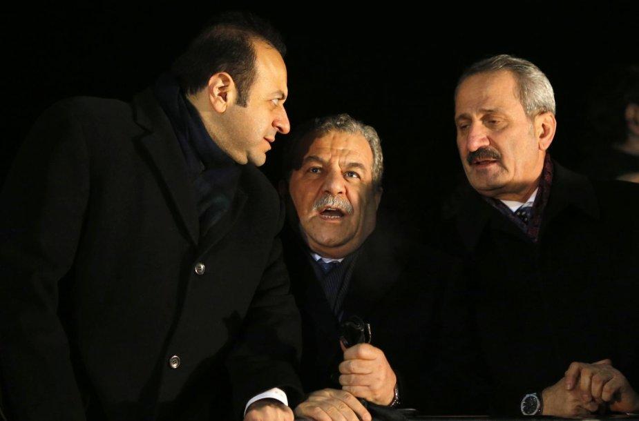 Turkijos ekonomikos ministras Zaferas Caglayanas