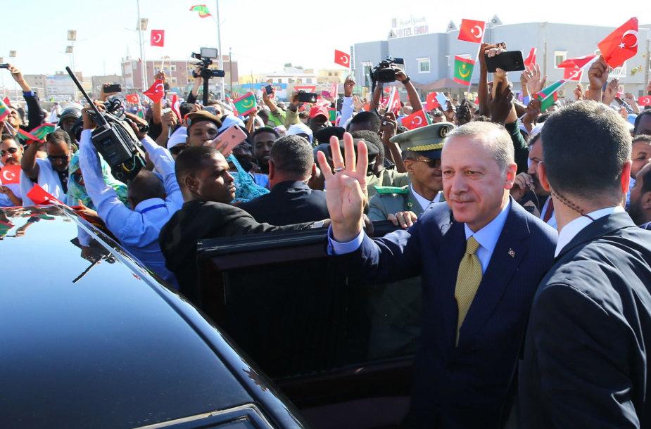 Recepas Tayyipas Erdoganas Nuakšote
