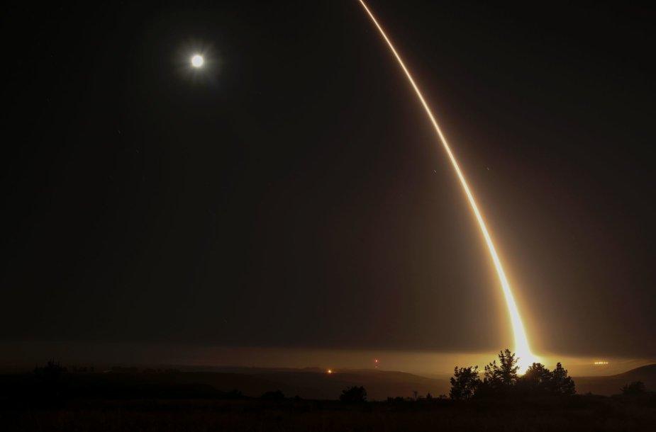 JAV išbandyta raketa