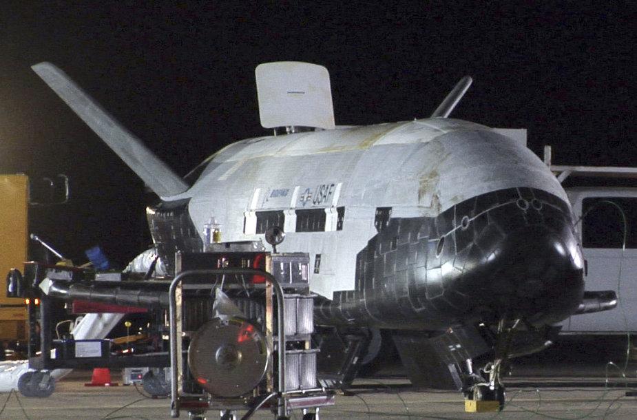 Slapčiausias iš JAV kosminių aparatų – kosmoplanas X-37B
