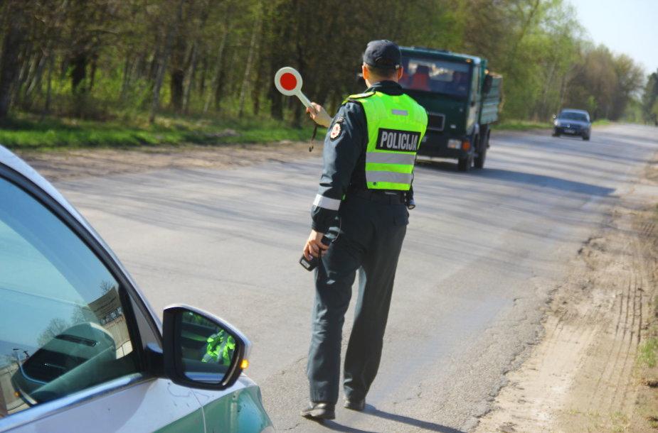 Vairuotojų blaivumo patikrinimas