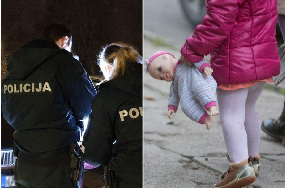 Iš vakaro policija įsigilino į situaciją, tačiau drastiškų veiksmų nesiėmė, o kitą dieną reikalas dėl mergaitės, taip pat ir motinos dėka, išspręstas civilizuotai.