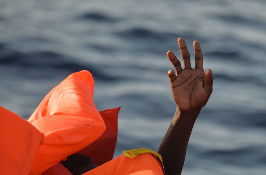 Migrantai ir pabėgėliai Viduržemio jūroje