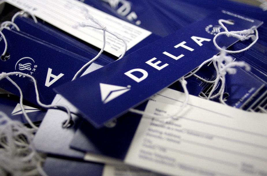 """""""Delta"""" oro linijos"""