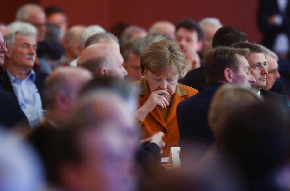Įžvelgiama, kad A.Merkel trūksta entuziazmo