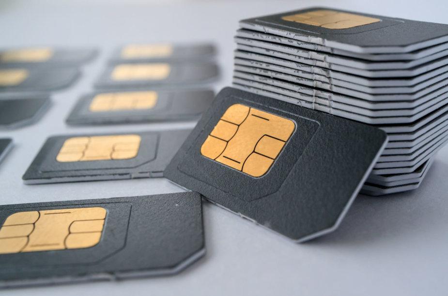 SIM kortelės