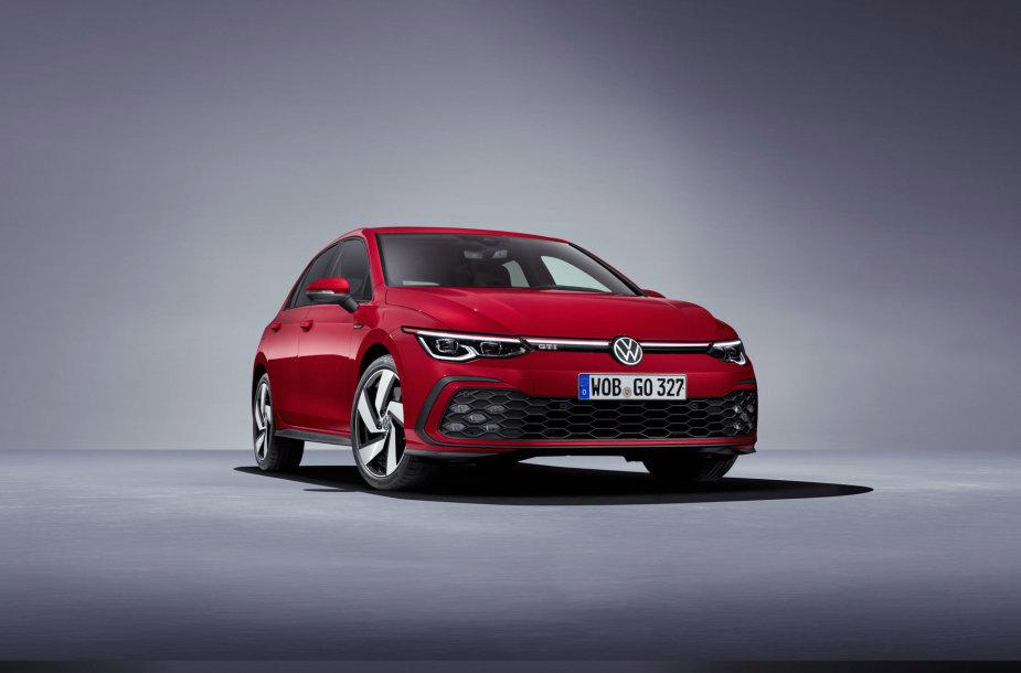 """""""Volkswagen"""" Ženevoje parodys sportiškiausius """"Golf"""" modelius: GTI, GTD, GTE"""