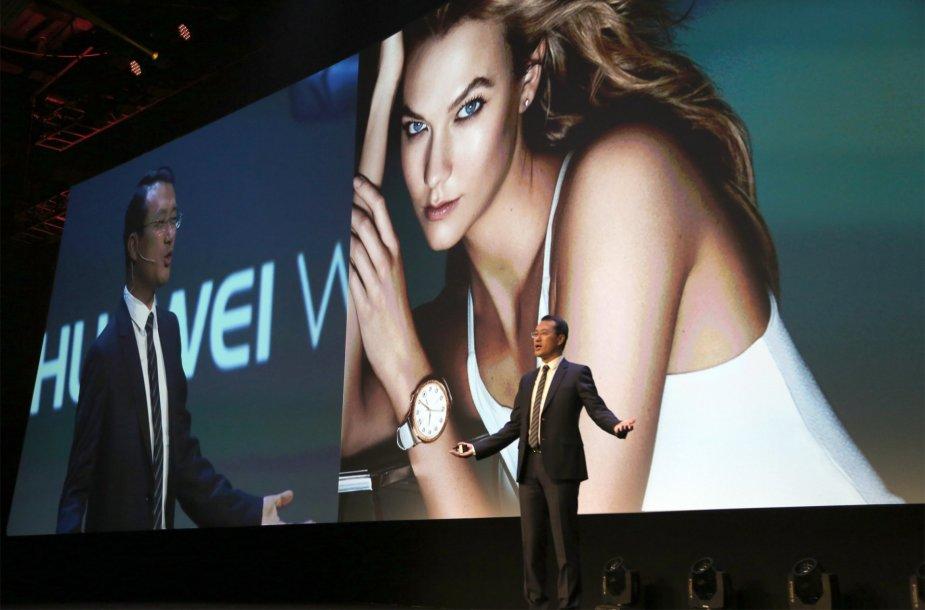 """Pristatyti nauji """"Huawei"""" išmanieji laikrodžiai"""