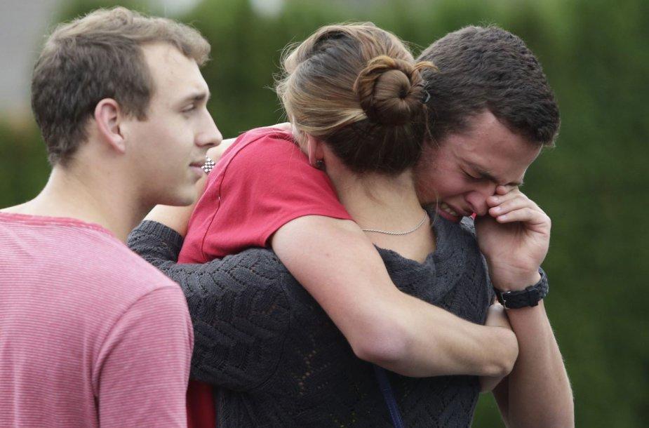 JAV Vašingtono valstijos mokyklos moksleiviai sukrėsti dėl incidento.