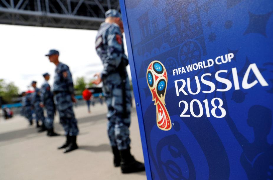 Futbolo čempionatas Rusijoje