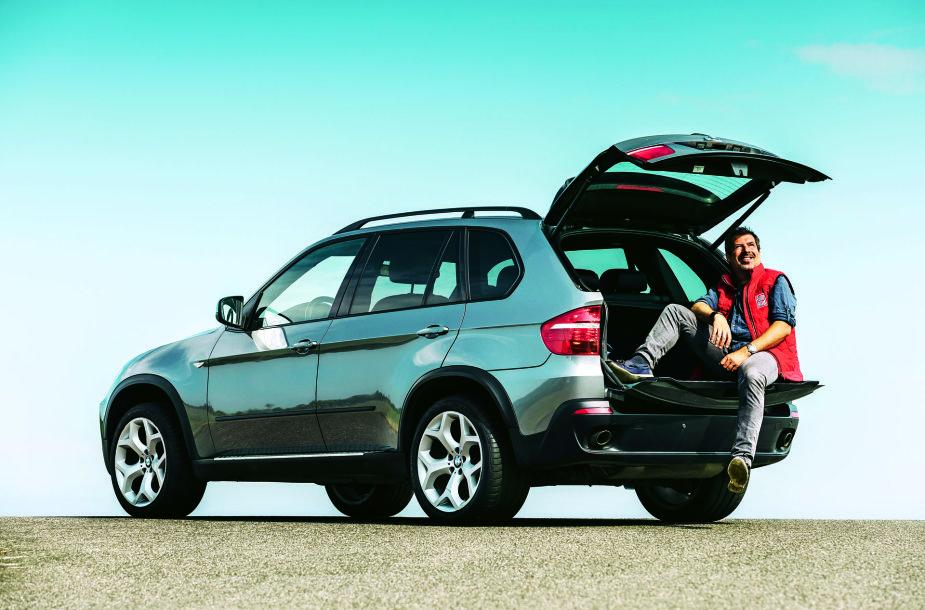 Antros kartos BMWX5