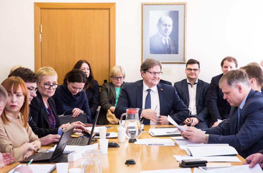 Švietimo ir mokslo komitetas sprendžiadėl LEU ir VDU susijungimo