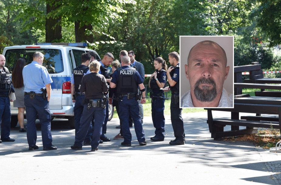 Policija Z.Changošvilio nužudymo vietoje ir Vadimas Sokolovas