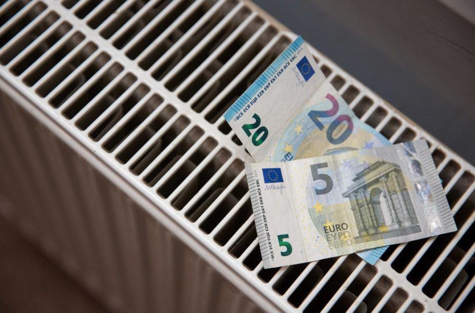 Šildymo kaina