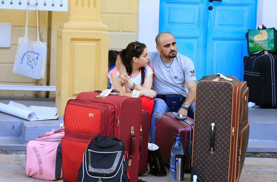 Pabėgėlių pora