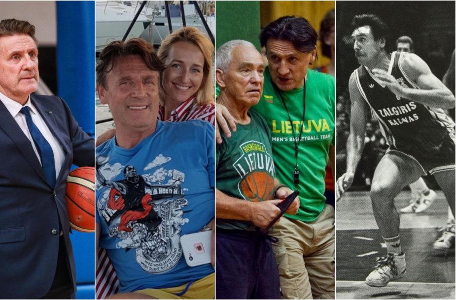 Valdemas Chomičius ir krepšinis