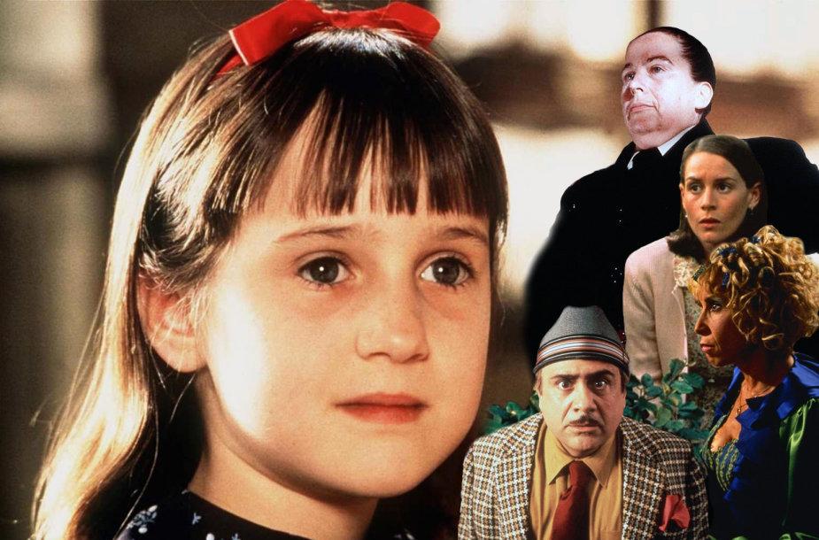 """Kadrai iš filmo """"Matilda"""""""