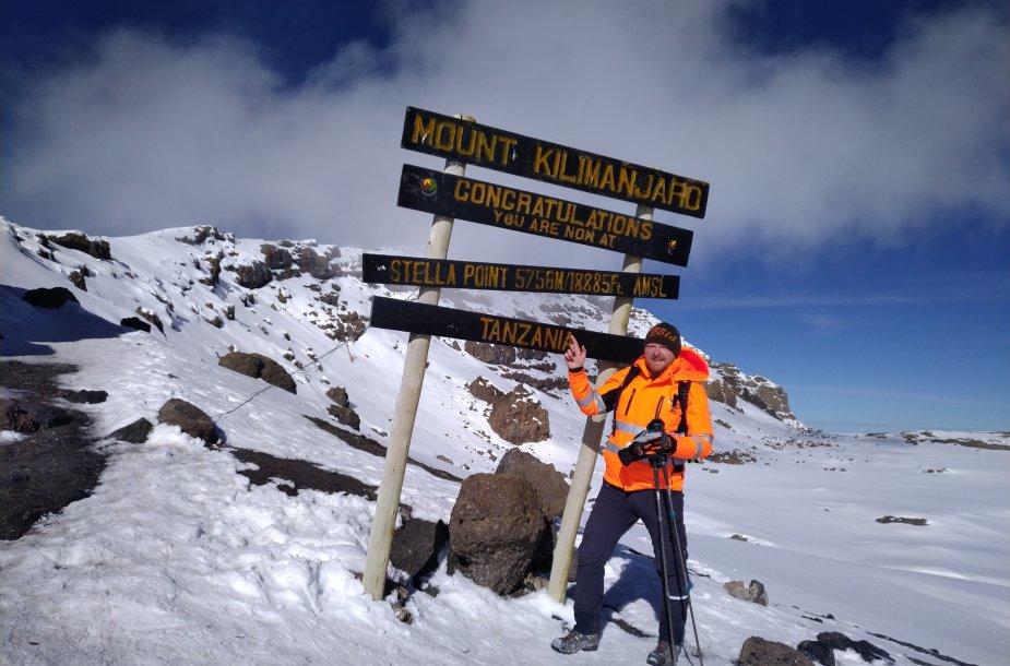 Kopimas į Kilimandžarą