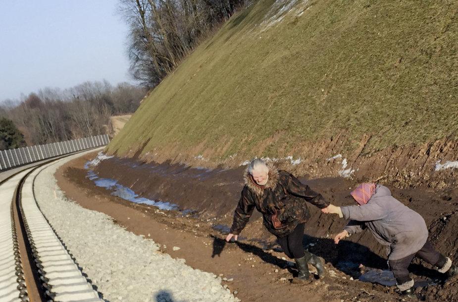 Pavytės kaimo gyventojų susisiekimo problemos Kauno rajone