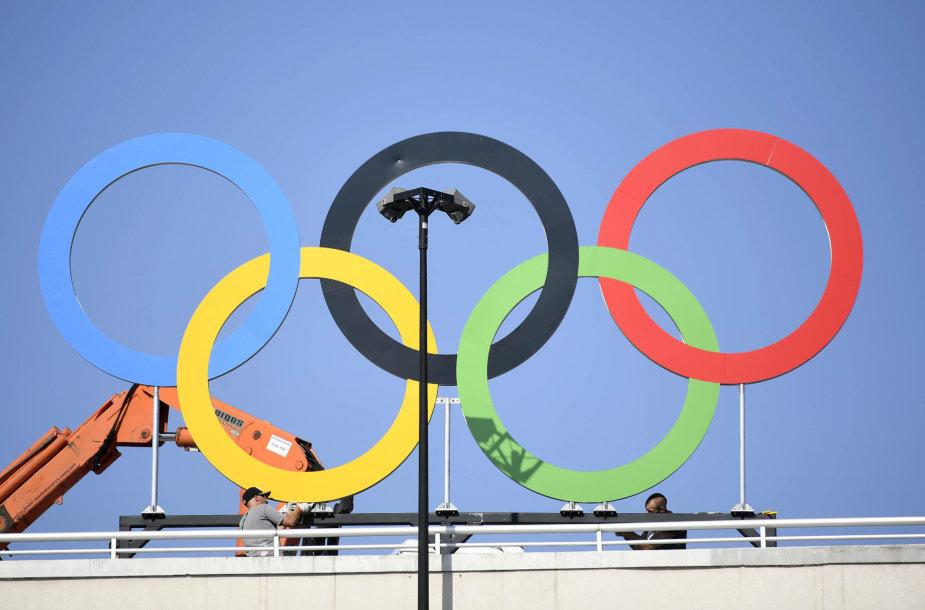 Rio de Žaneiras laukia olimpinių žaidynių atidarymo
