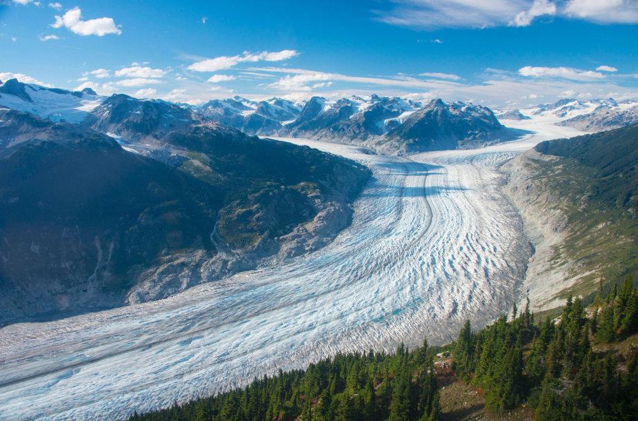 Tirpstantis ledynas Kanadoje