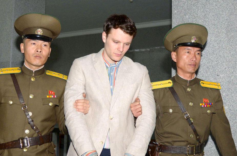 Otto Warmbier Šiaurės Korėjoje
