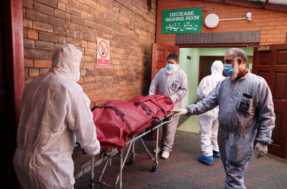 Jungtinė Karalystė per koronaviruso pandemiją