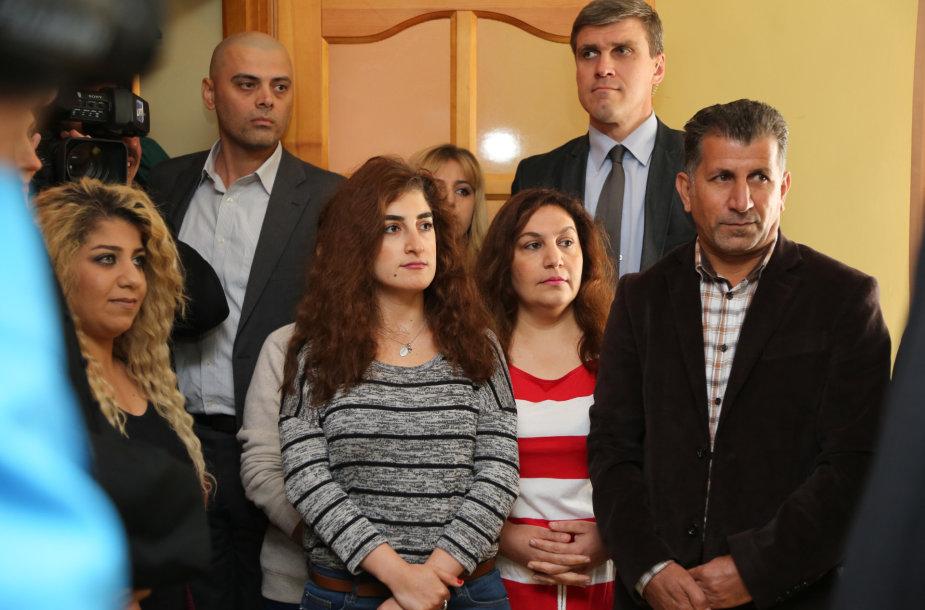 Prezidentė susitiko su pabėgėlių iš Irako šeima