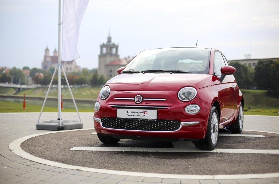 """Fiat 500"" pristatymas Vilniuje"