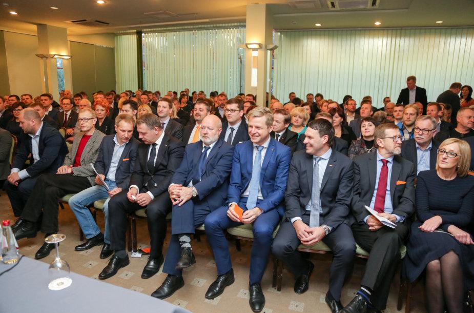 Liberalų sąjūdis tvirtino kandidatus į Seimą