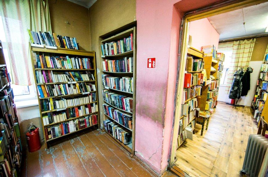 Avarinės būklės biblioteka Dzūkų g.