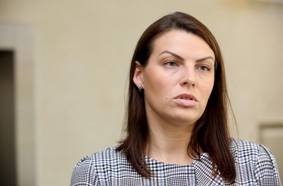 Rasa Kazėnienė susitinka su teisingumo ministru