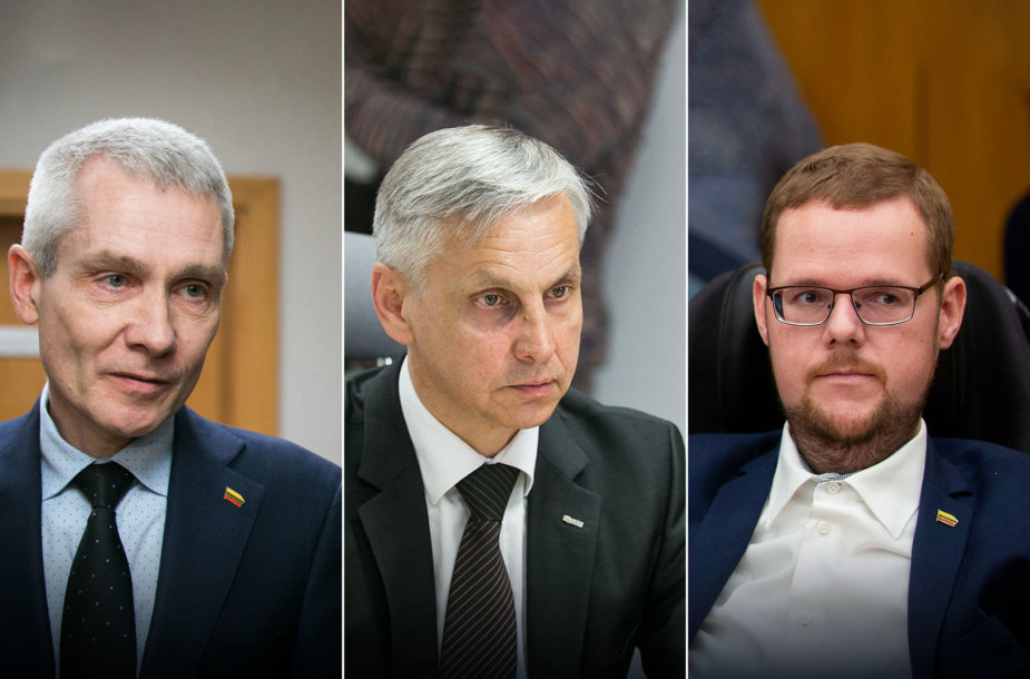 Raimundas Martinėlis, Povilas Urbšys, Justas Džiugelis