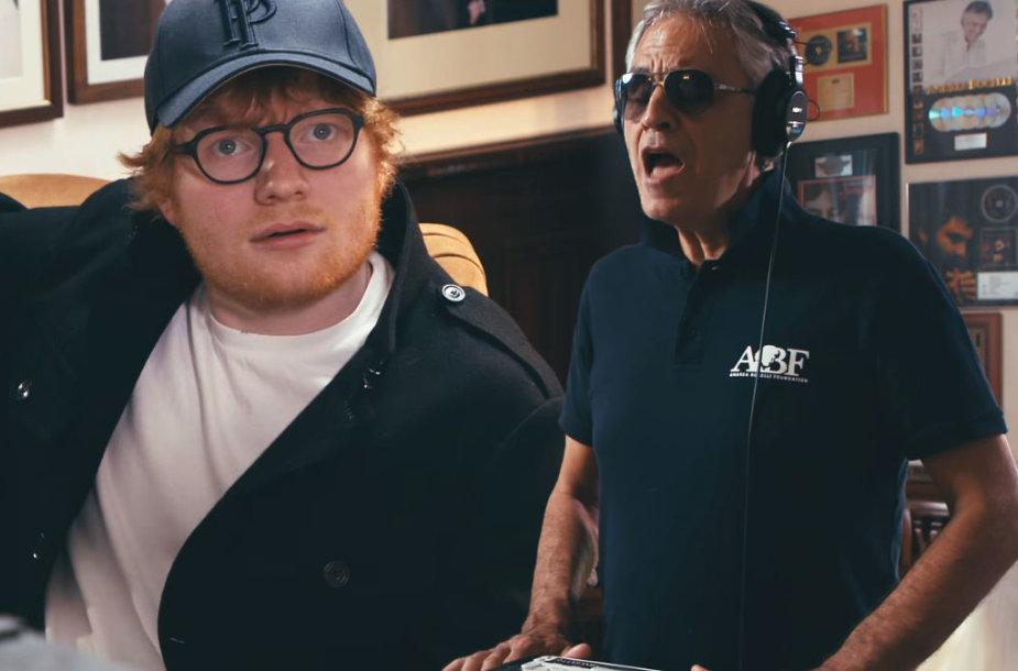 Edas Sheeranas ir Andrea Bocelli