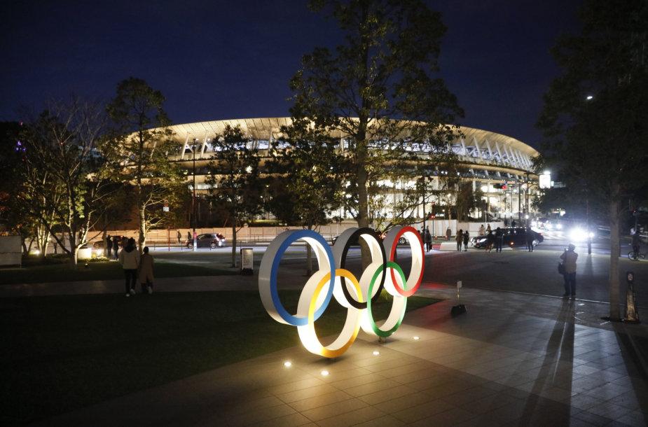 Tokijuje oficialiai atidarytas pagrindinis 2020 metų olimpinių žaidynių stadionas