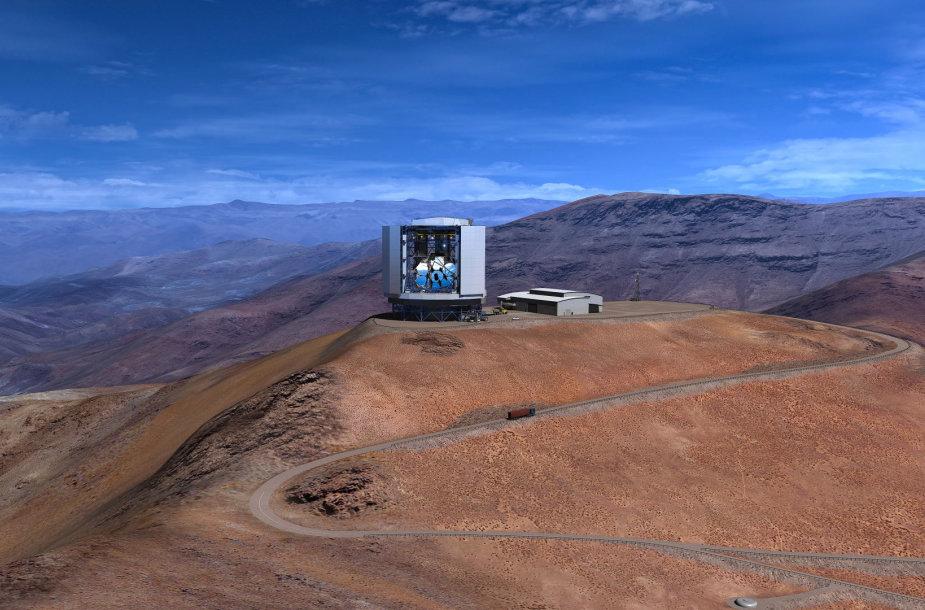 Taip turėtų atrodyti užbaigtas statyti Gigantiškasis Magelano teleskopas (GMT)
