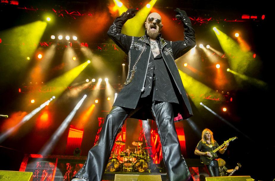 """Judas Priest"" koncerto Vilniuje akimirka"