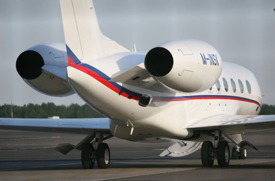 Lėktuvas Vilniaus oro uoste