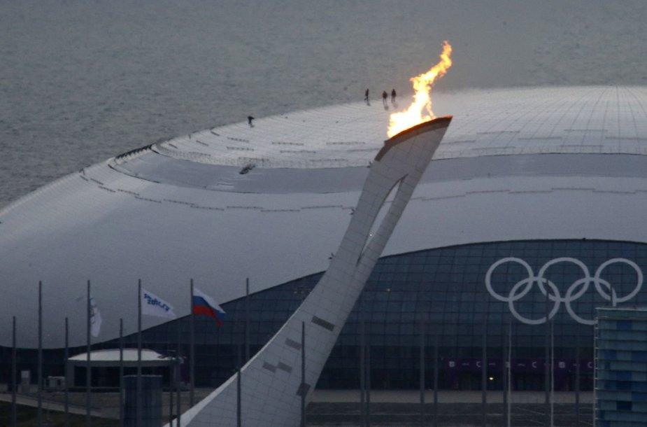 Sočio žaidynių olimpinis deglas