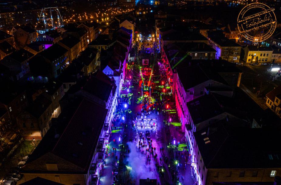 Klaipėdoje prasidėjo Šviesų festivalis